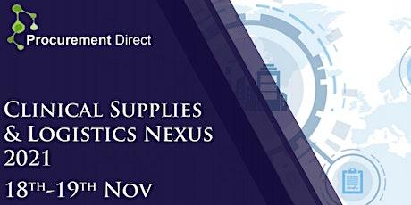 Clinical Supplies & Logistics Nexus 2021 tickets