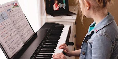 SUMMER TERM: Beginner & Intermediate Piano (Online) tickets