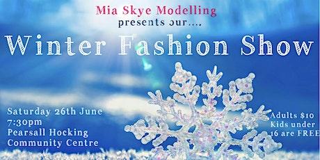 Mia Skye Modelling Winter Fashion Show 2021 tickets