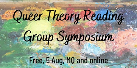 Queer Theory Reading Group Symposium tickets