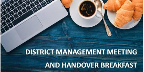 District 17 - District Management Meeting (DMM) and Handover Breakfast tickets