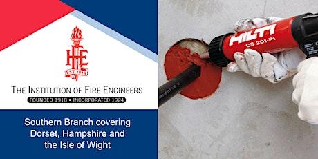 Fire Stopping Webinar tickets