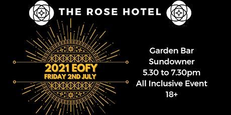 The Rose Hotel's EOFY Sundowner tickets