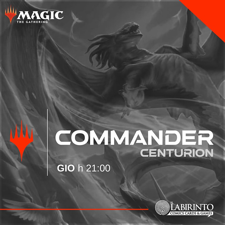 Immagine Mtg COMMANDER 1vs1 [Centurion] | Giovedì - h 21:00