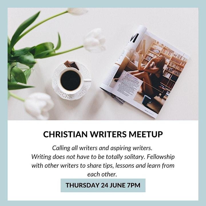Christian Writers Meetup image