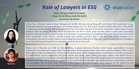 Role of Lawyers in ESG boletos