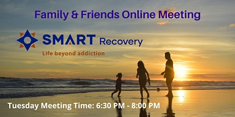 SMART Recovery Family & Friends Online Meeting tickets