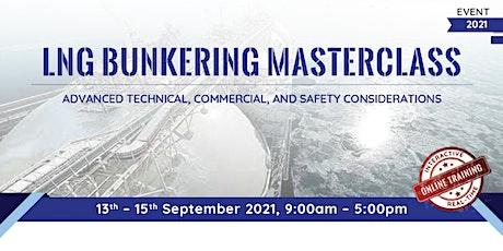 LNG Bunkering Masterclass tickets