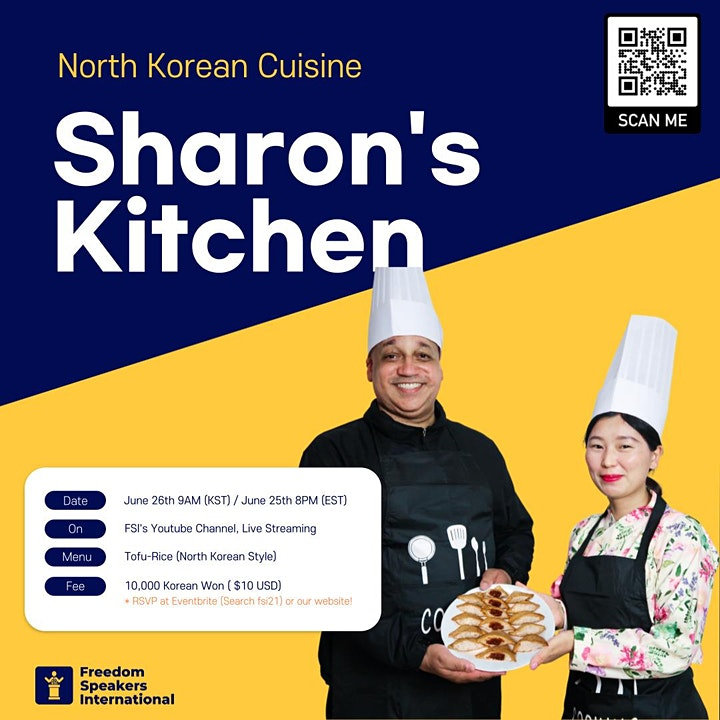 Cooking Class with North Korean refugee image