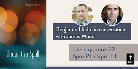 Benjamin Hedin in conversation with James Wood tickets