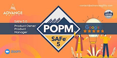 SAFe 5.0 POPM (Online/Zoom) Sept-30-Oct-01, Thu-Fri, Sydney Time (AET) tickets