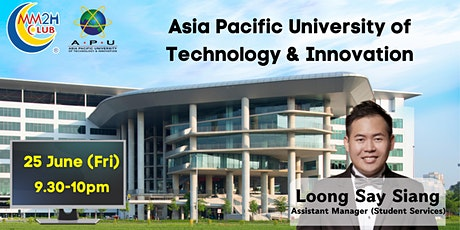 [Education Showcase] Asia Pacific University of Technology & Innovation tickets