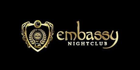 HIP HOP FRIDAYS AT EMBASSY NIGHTCLUB tickets