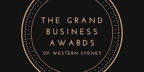 Grand Business Awards: Western Sydney tickets