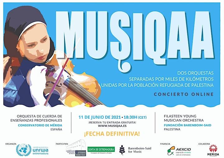Imagen de MUSIQAA Concierto online ¡Aplazado al11 de junio!