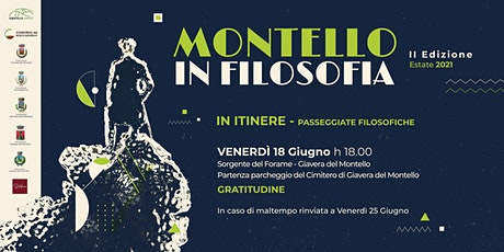 MONTELLO IN FILOSOFIA | In itinere | Gratitudine biglietti