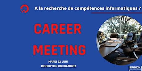 Career Days - MSC 1 : Mardi 22 Juin 2021 billets