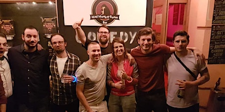 SHABBY - Stand up Comedy im Mad Monkey Room (20:00 Uhr) Tickets