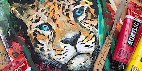Acrylmalerei für Kinder und Jugendliche  ab 9 Jahren I Live-Online-Kurs Tickets