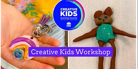 Polymer Clay Kids Creative Sculpture Workshop tickets