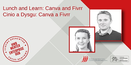 Lunch and Learn: Canva and Fivrr | Cinio a Dysgu: Canva and Fivrr tickets