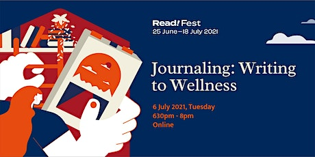 Journaling: Writing to Wellness | Read! Fest tickets