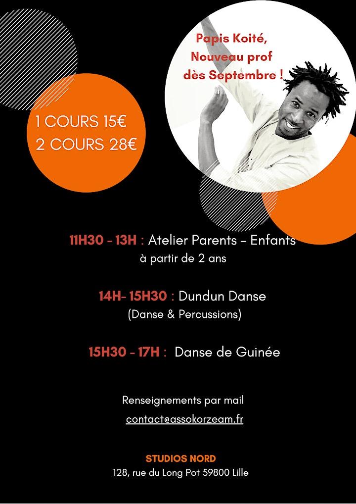 Image pour STAGE KORZEAM - Danse et Percussions d'Afrique