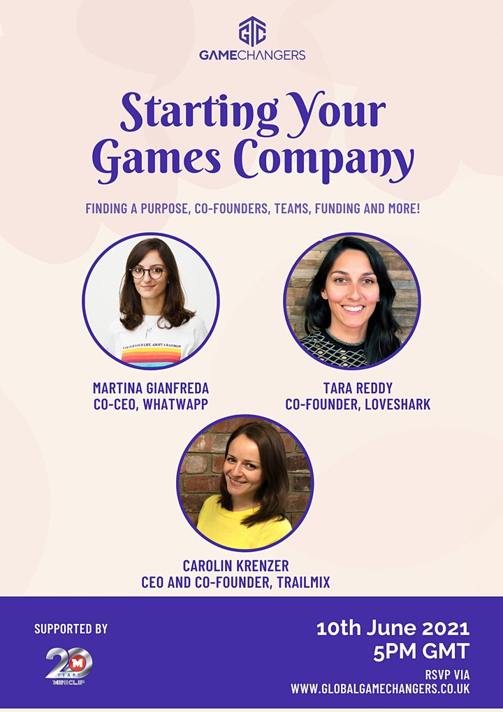 Game Changers: Starting Your Games Company image