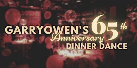 Garryowen GAC's 65th Anniversary Dinner Dance tickets