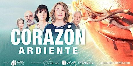 """Proyección de la película """"Corazón Ardiente"""" entradas"""