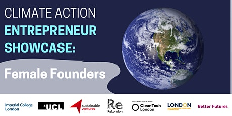 Climate Action Entrepreneur Showcase: Female Founders tickets