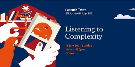 Listening to Complexity | Read! Fest Tickets