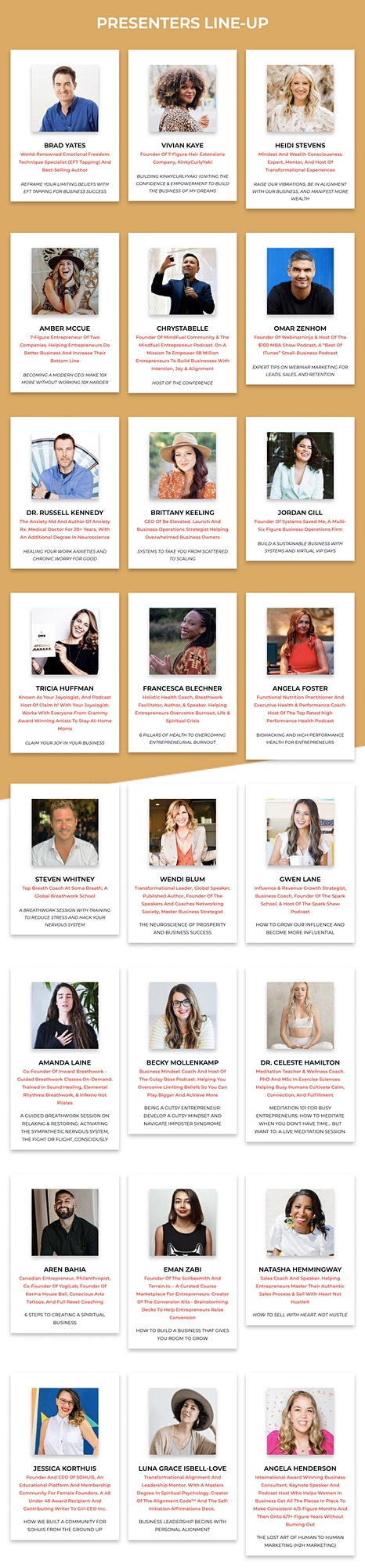 LEVEL-UP Business Success And Alignment Conference [Online Conference] image