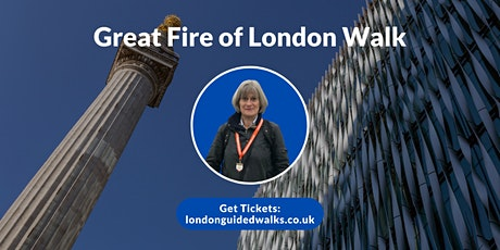Great Fire of London Walk tickets