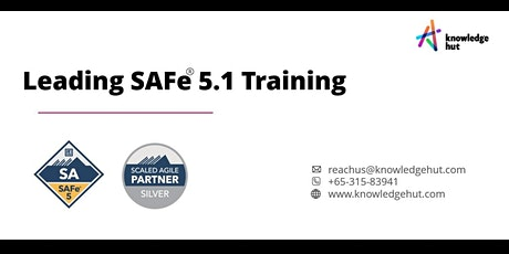 Leading SAFe® 5.1 Training in SINGAPORE tickets