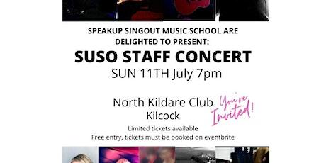 SUSO Staff Concert tickets
