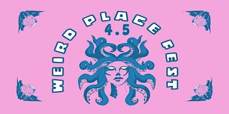 WEIRD PLACE FEST 4.5 tickets