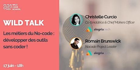 Wild Talk - Les métiers du No-code : développer des outils sans coder ! billets