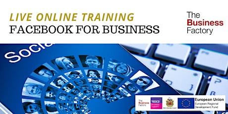 LIVE - Facebook for Business Beginners Workshop 10am tickets