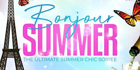 BONJOUR: A SUMMER SOIRÉE tickets