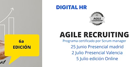 Agile Recruiting - Programa HR Digital ( people and culture) tickets