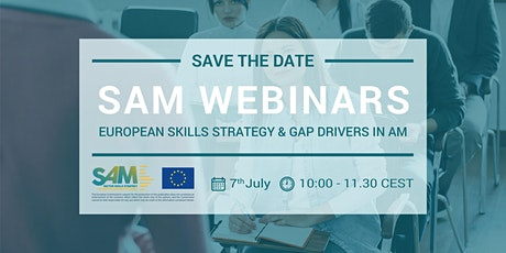 The European Skills Strategy & Gap Drivers in Additive Manufacturing tickets