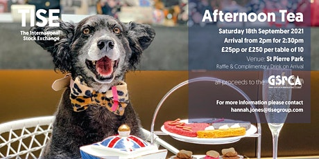 Afternoon Tea in support of the GSPCA tickets