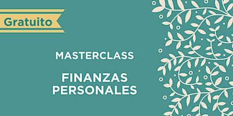 MasterClass: Finanzas Personales entradas