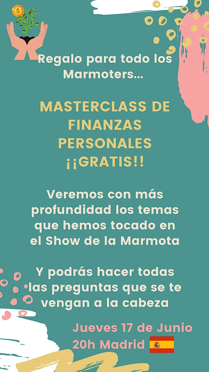 MasterClass: Finanzas Personales image