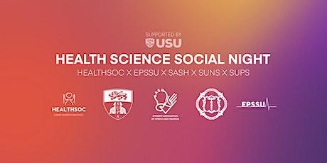 Health Sciences Social Night tickets