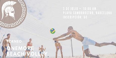 Torneo ONEMORE Volleyball entradas
