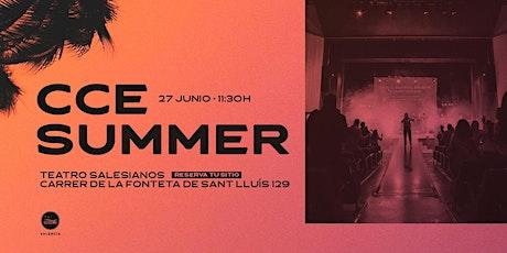 DOMINGO CCE SUMMER -(English translation available) entradas