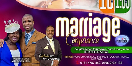 Marriage Conference 2021 tickets