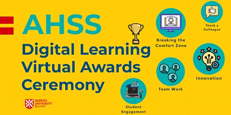 AHSS Digital Learning Awards - Virtual Awards Ceremony tickets